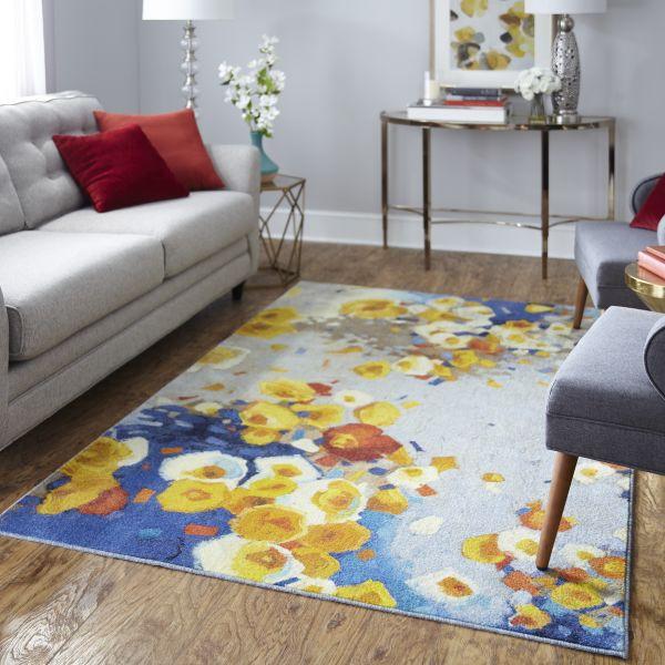 Floral Area Rug | Dalton Flooring Outlet