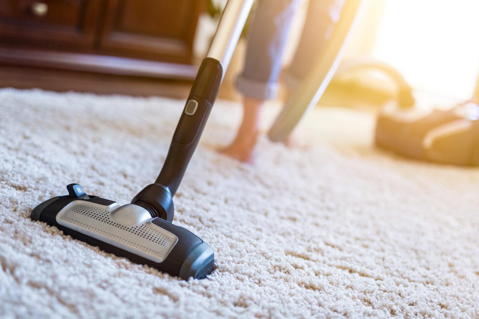 Area Rug Vacuuming | Dalton Flooring Outlet
