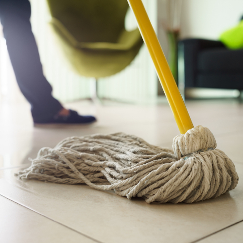 Mopping Tile | Dalton Flooring Outlet